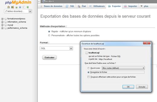 exportation-de-bdd